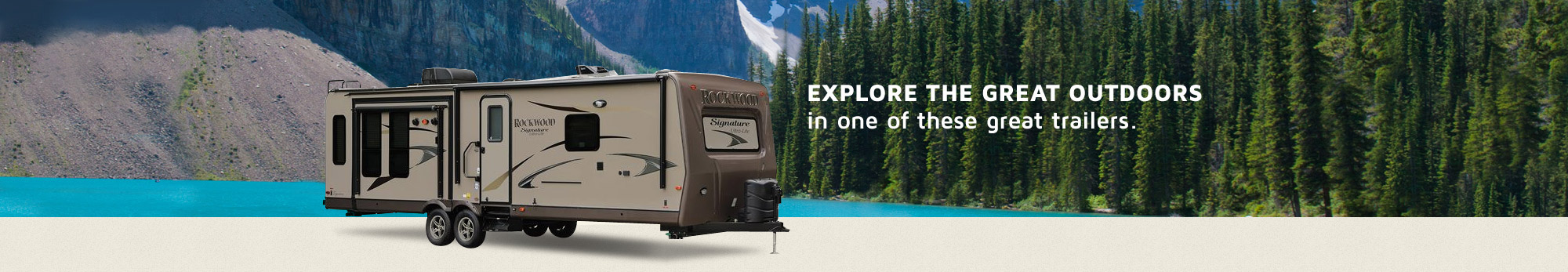 Explore the Great Outdoors with Rockwood RVs