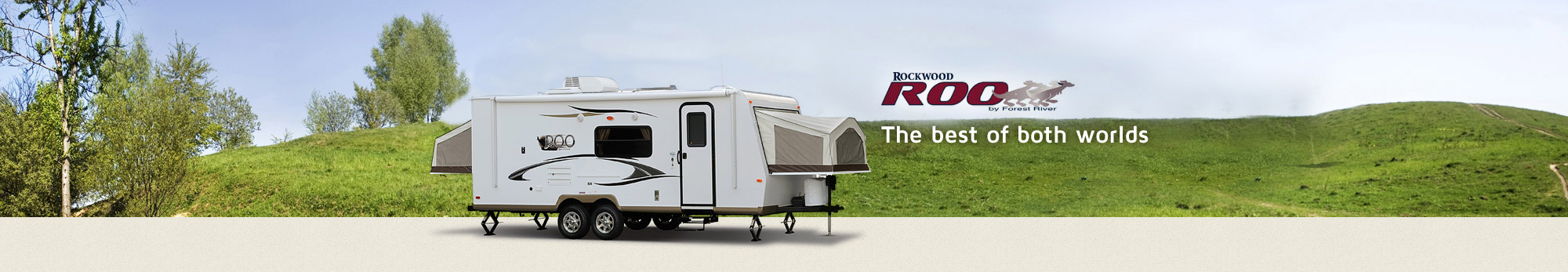 Have the best of both worlds with Rockwood Roo RV
